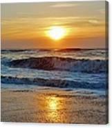 Hatteras Island Sunrise 9 8/28 Canvas Print