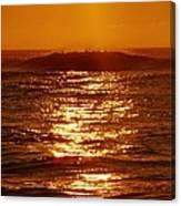 Hatteras Sunrise 16 8/6 Canvas Print