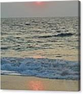 Hatteras Sunrise 5 8/8 Canvas Print