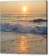 Hatteras Sunrise 9 8/6 Canvas Print
