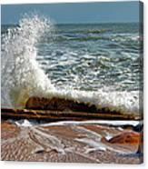 Hatteras Waves Canvas Print