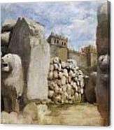 Hattusha The Hittite Capital Canvas Print