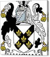 Haughan Coat Of Arms Irish Canvas Print