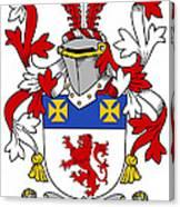 Haugher Coat Of Arms Irish Canvas Print