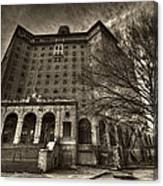 Haunted Baker Hotel Canvas Print