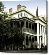 Haunted Mansion New Orleans Disneyland Canvas Print