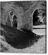 Haunted Mortemer Abbey Canvas Print