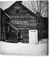 Haunted Old House Canvas Print