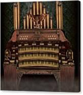 Haunted Pipe Organ Canvas Print
