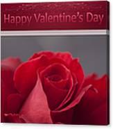 Hau'oli Ka La Aloha Kakou - Happy Valentine's Day Canvas Print