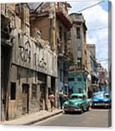 Havana 9 Canvas Print