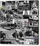 Havana Montage 3 Canvas Print