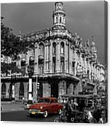 Havana Red Canvas Print