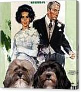 Havanese Art - Father Of The Bride Movie Poster Canvas Print