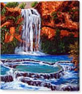 Havasu Falls Cheryln1955@gmail.com Canvas Print