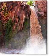 Havasu Falls Study 2 During Flash Flood Canvas Print