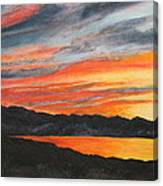 Havasu Sunset Canvas Print