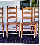 Have A Seat. Canvas Print