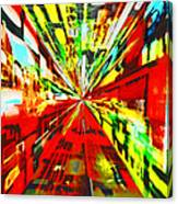 Have You Advertised In Hyperspace? Canvas Print
