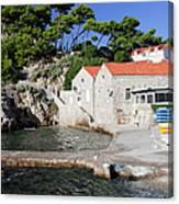 Haven In Dubrovnik Canvas Print