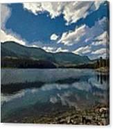 Haviland Lake Canvas Print