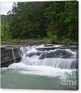 Haw Creek Falls Canvas Print