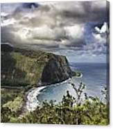 Hawaii Coastline Kauai  Canvas Print