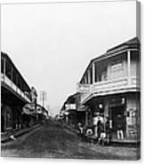 Hawaii: Honolulu, C1875 Canvas Print
