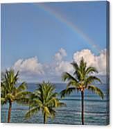 Hawaii Rainbow Canvas Print