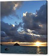 Hawaii Sunrise Canvas Print