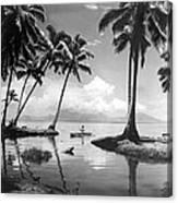 Hawaii Tropical Scene Canvas Print