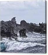 Hawaii Waves V1 Canvas Print