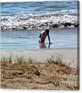 Beach Boy Canvas Print