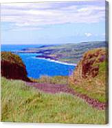 Hawaiian Hilltop Canvas Print