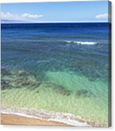 Hawaiian Ocean Canvas Print