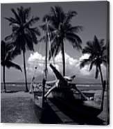 Hawaiian Sailing Canoe Maui Hawaii Canvas Print