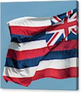 Hawaiian State Flag, Oahu, Hawaii Canvas Print