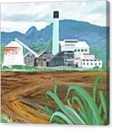 Hawaiian Sugar Mill Canvas Print