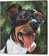 Hawg Dawg Canvas Print