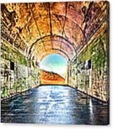 Hawk Hill Tunnel Canvas Print