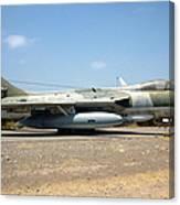 Hawker Hunter Fga 9. Fach 744 Canvas Print