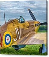 Hawker Hurricane 7d08c Canvas Print