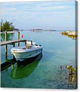Hawks Nest Marina Canvas Print