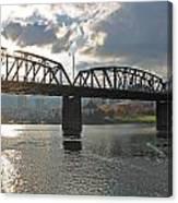 Hawthorne Bridge Portland 002 Canvas Print