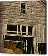 Hay For Sale Canvas Print