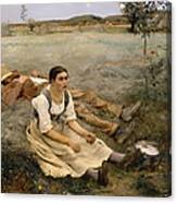 Haymaking  Canvas Print