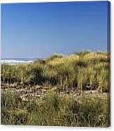 Haystack And Sea Grass Canvas Print