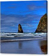 Haystack Rock And The Needles IIi Canvas Print