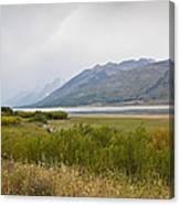 Hazy Day - Grand Teton National Park - Wyoming Canvas Print