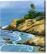 Hazy Laguna Morning Canvas Print